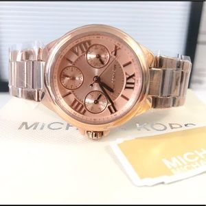 🌸 MICHAEL KORS ROSE GOLD WATCH MK6447